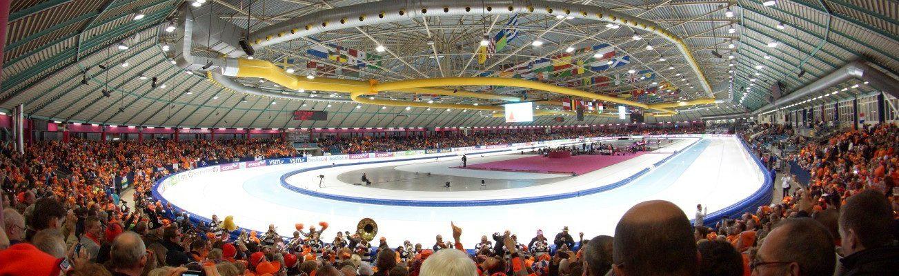Ronde Tafel 68 Heerenveen.Ijssportdag 2014 In Thialf Ijsstadion Round Table 68